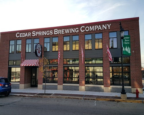 Region 4 - Cedar Springs Brewing Co. (Cedar Springs) 2015
